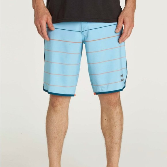 Billabong Plantinum X Stripe Swim Board Shorts